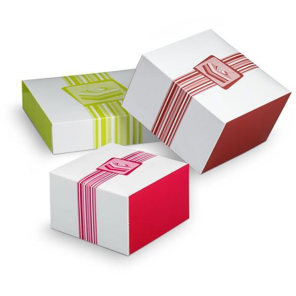 achat boite carr e pas cher boite p tissi re packeos. Black Bedroom Furniture Sets. Home Design Ideas