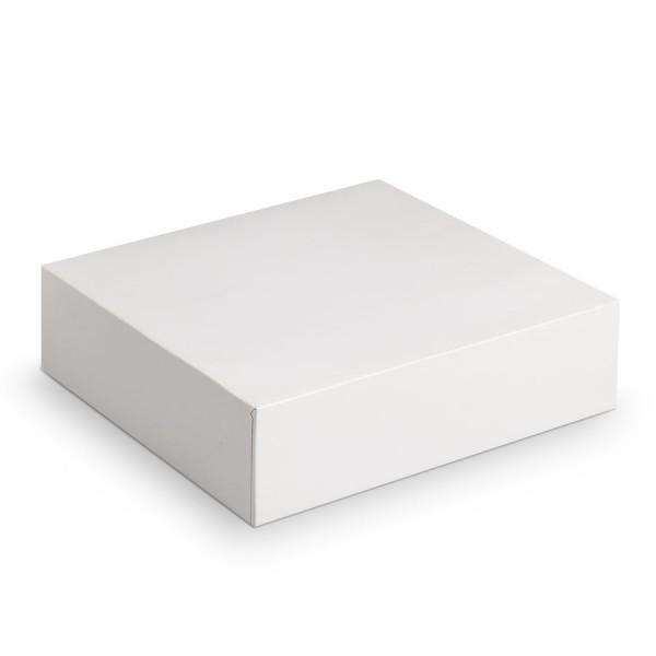 Achat boite carr e blanche pas cher boite p tissi re - Boite rangement pas cher plastique ...