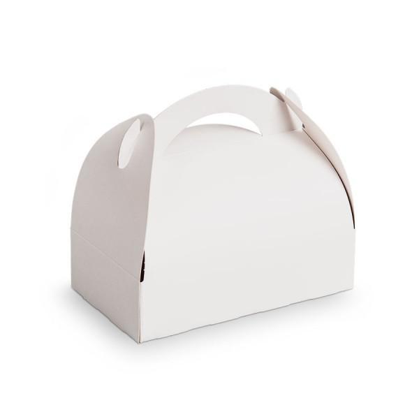 Achat boites poign es blanches pas cher packeos - Boite en carton a decorer pas cher ...
