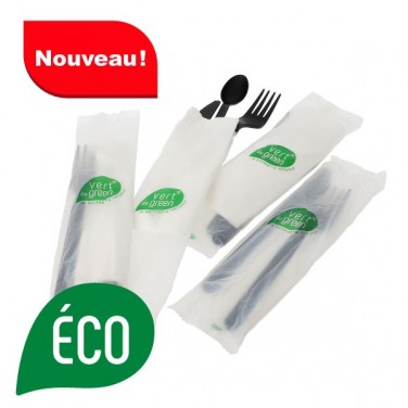 Kit couvert biodegradable