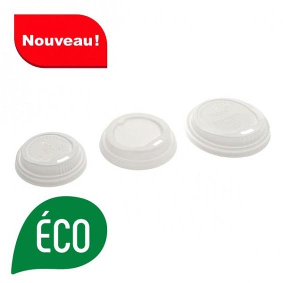 Couvercle pour gobelet biodegradable