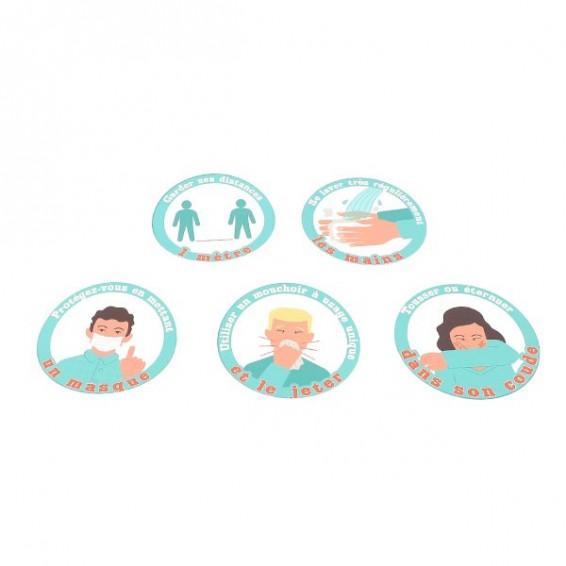 Sticker vitrophanie vitrine