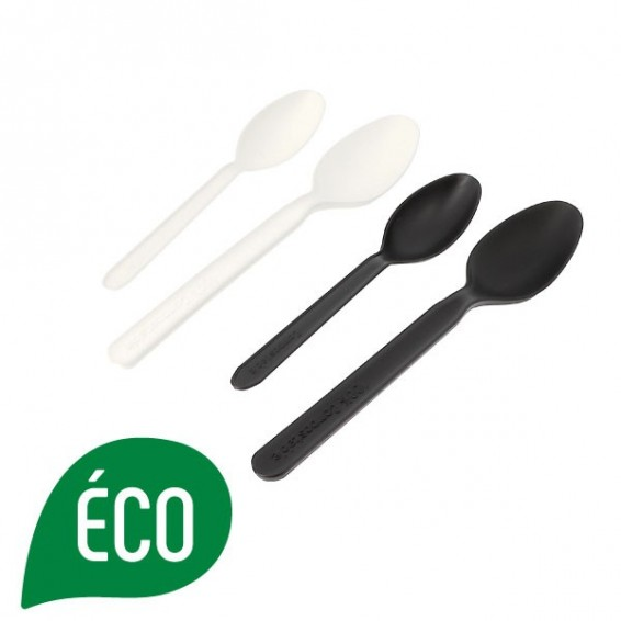 Cuillere biodegradable et compostable