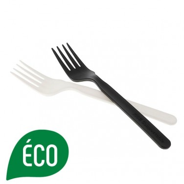 Fourchette biodegradable et compostable