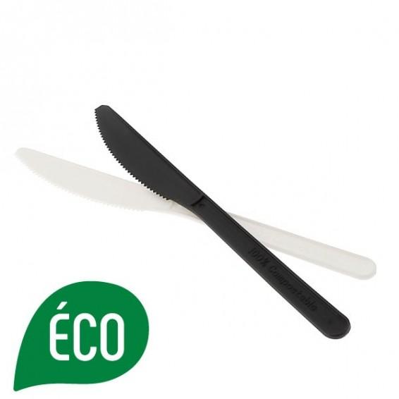 Couteau biodegradable et compostable