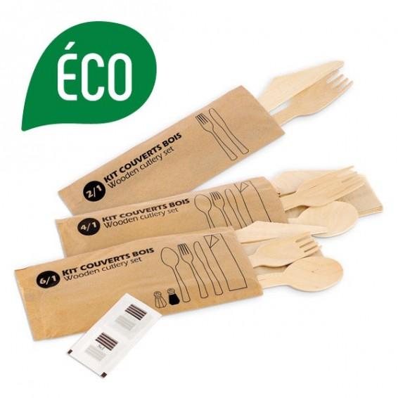 Kit couvert en bois