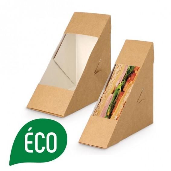Emballage sandwich triangulaire