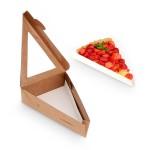 Boite triangulaire à fenetre en kraft