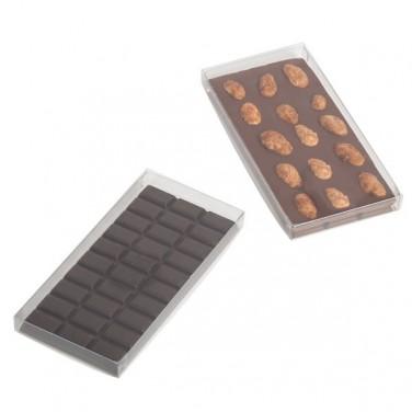 Etui transparent pour tablette de chocolat