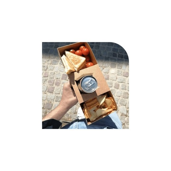 Emballage burger frite