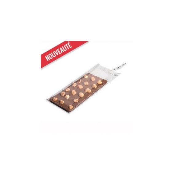 Sachet plat OPP pour tablette de chocolat