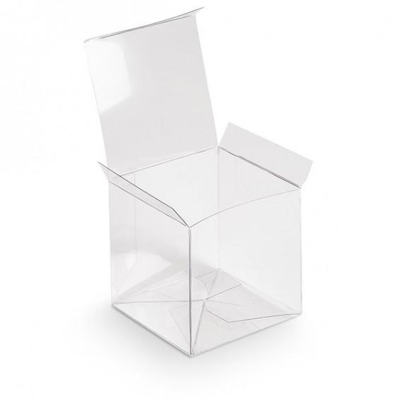 Boite cubique transparente