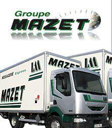 image du camion de transport messagerie